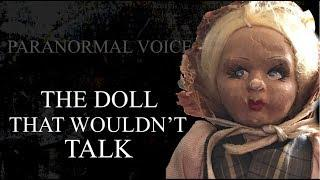 The Doll That Wouldn't Talk | Haunted Case Study | Paranromal Voice