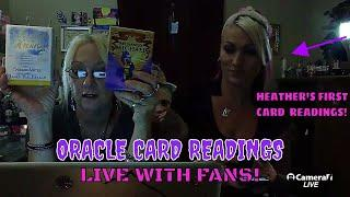 "MESSAGES FROM HEAVEN ""LIVE CARD READINGS"" WITH HEATHER!!"
