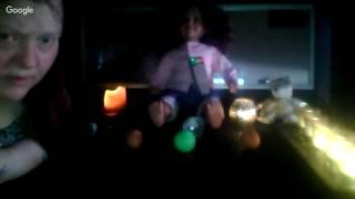LONE SESSION ME THE DOLL A BALL GHOST BOX AND EMF AND EVP !!!!
