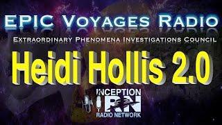 Heidi Hollis 2.0 - Heaven's Current War - EPIC Voyages Radio