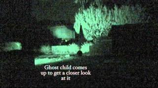 Plymouth Ghost Hunters - Static camera in Riverside Cemetery