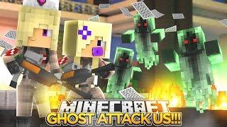 GHOST HUNTING w/ BABY ANGEL!!!- Minecraft - Baby Leah Adventures.