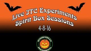 LIVE ITC Spirit Communication - Using the PSI Bank Player, Radio Ghost Boxes & Ghost Box Apps