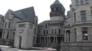 Arrival at Mansfield Reformatory (Prison)