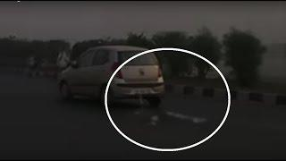 Strange Ghost Sighting Caught at National Highway!! Horrible ghost real footage Scary Videos