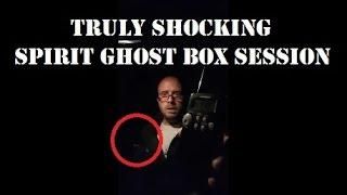The Most SHOCKING Spirit Ghost Box Session | LIVE At Stocksbridge Bypass | HAUNTED Mad Monk | PXTV