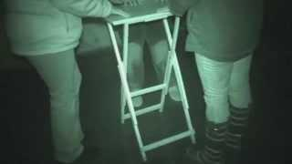 Fort Borstal ghost hunt - 28th February 2015 - Table Tilting Group 1