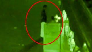 Ghost Shadow Caught On Bus!! Real CCTV Footage