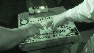 Ouija Board at Creepy Haunted Cemetery! | Dead Explorer #84