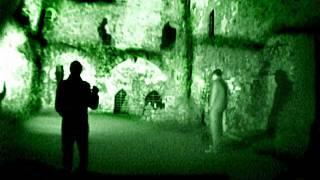 Ghost Hunt 2011. Paranormal Investigation in a Scary, Haunted Castle. Part 4