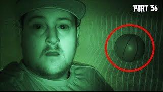 GHOST CAUGHT MOVING BALL - Real Paranormal Activity Part 36