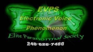 Elite Paranormal Society - EVPS