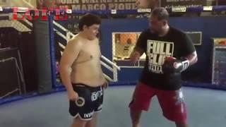 UFC Fighter Hitting Fans - MMA Fighter vs Fans