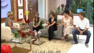 Rosa Maria Jaques no Mais Você Parte 1 Ana Maria Braga Rede Globo 29 dezembro 2009 YouTube.wmv