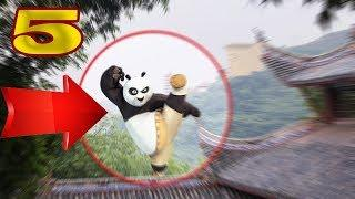 5 REAL LIFE KUNG FU PANDA CAUGHT ON CAMERA & SPOTTED IN REAL LIFE