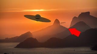 Mass Ufo Filmed In India Over Ganges River!! Alien Sightings Unsolved Mysteries!!