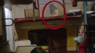 Ghost caught in Train! REAL SCARY SHOCKING GHOST CAUGHT ON TAPE Scary Videos