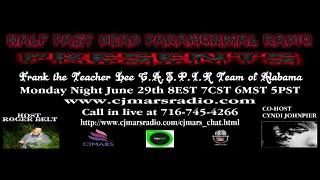 Half Past Dead Paranormal Radio Frank Lee and Dusty Ward
