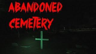 Lost & Alone in Scary Cemetery **SUPER FAIL**