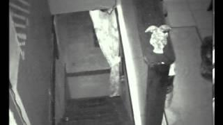Real Paranormal Ghost, Orbs on Basement Stairs