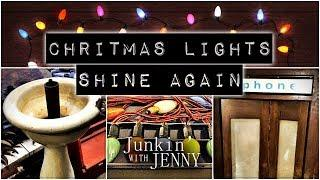 Junkin' With Jenny | Christmas Lights Return!
