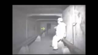 Ghost Filmed in Dark Tunnel