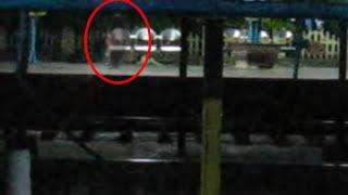 Ghost In Railway Station | Real Ghost Caught On Tape | Real Ghost Videos | Scary Videos