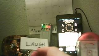 Echovox session: Blink, Laugh, Nicole, Dance, intellgient responses?'