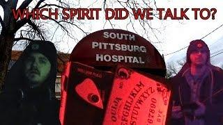 OLD SOUTH PITTSBURG HOSPITAL INVESTIGATION PART SIX: THIRD FLOOR OUIJA BOARD AND SPIRIT BOX
