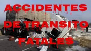 Accidentes De Transito Fatales | PPU