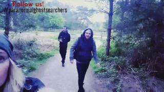 Black Eyed Children Paranormal Investigation Haunted woods! Vlog 01