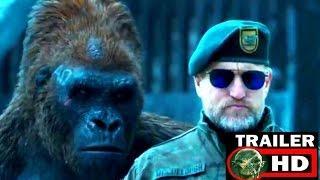 El planeta de los simios 3 español- oficial trailer FULL HD 2017 nuevo trailer mayo 2017