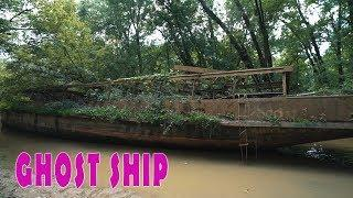 Ancient Ghost Ship Found In Swamp! I Became Captain Of The Ship