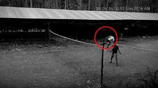 Esta Cámara de Seguridad Captó algo Aterrador - Proyecto Paranormal