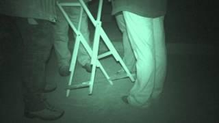 Fort Amherst ghost hunt - 21st March 2015 - Table Tilting part 1