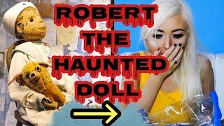 OPENING ROBERT THE HAUNTED DOLL!!!