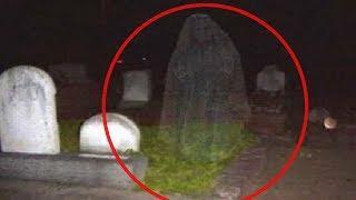 5 Terroríficos Fantasmas en Cementerios Captado en Video