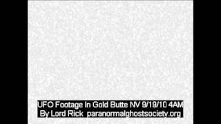 Gold Butte UFO Edited Version Part 1