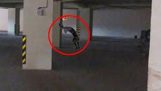 Real Haunted Parking Area You Can't Escape From!! Ghost Caught On Camera!!