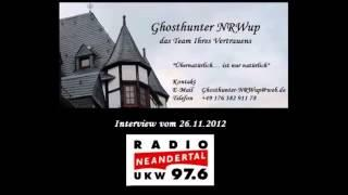 Ghosthunter-NRWup Interview Radio Neandertal 2012