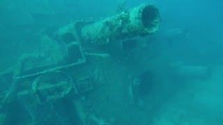 Sunken WWII U S  Navy ship found