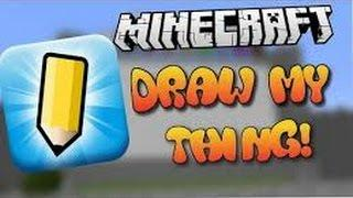 Minecraft minigames#2 draw my thing