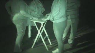 Explosion Museum ghost hunt - 14th May 2016 - Table Tilting