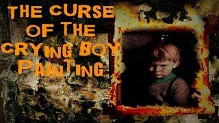 SCARY STORY - Episode 11 - The Curse of the Crying Boy Painting