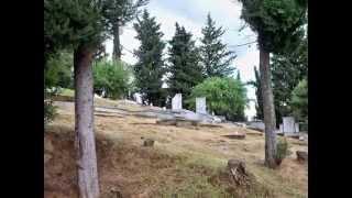 GHOST HUNTING φάντασμα σε νεκροταφείο(Ελλάδα)ghost in graveyard greece