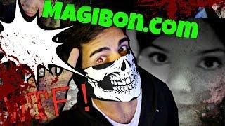 La aterradora pagina web Magibon.com - Te animas a entrar?