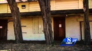 TV ghost hunters film episode at Soledad adobe