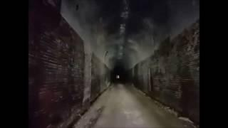 Silver Run Haunted Train Tunnel, North Bend Rail Trail, West Virginia