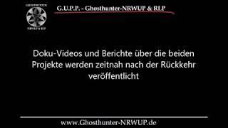 Geisterjagd in Rumänien 01.-04.03.2019 - Teaser #ghosthunter #geisterjäger #hoiabaciu