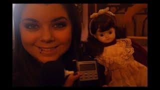 HAUNTED DOLL Spirit Box!! SHE SAID WHAT!?!